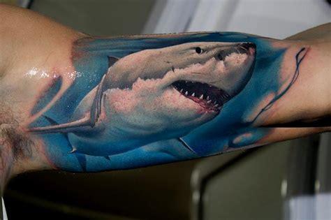 shark tattoos  represents strength  primal power