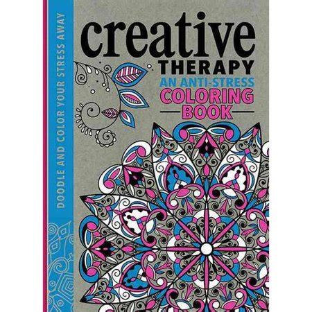 creative therapy  anti stress coloring book walmartcom