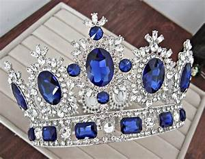 Royal Crown Goldsilver Rhinestone Tiara Head Jewelry