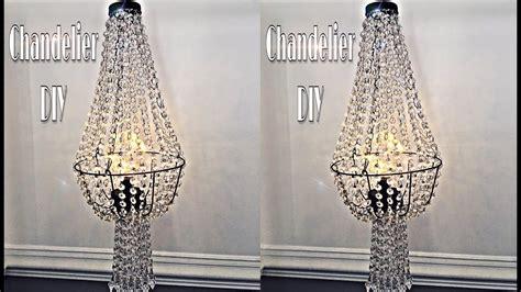 chandelier diy dupe  dollar tree wire basket youtube