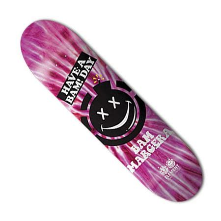 Element Bam Margera Have A Bam Day Deck In Stock At Spot