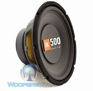 "JBL CS1014 10"" SINGLE 4-OHM 500W SUB CAR AUDIO AMPLIFIER ..."