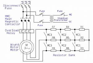 Guide To The Power Circuit And Control Circuit Of The Wound Rotor Ac Induction Motor