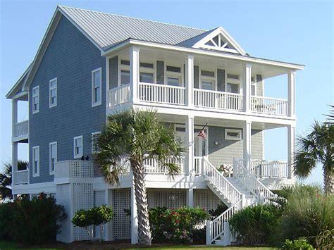 Beach Cottage House Plans On Pilings Beach House Plans