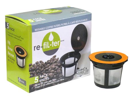 The 8 best single serve coffee makers in 2021. re-fiL-ter Reuseable Coffee Filters, 5 Pack   Walmart Canada