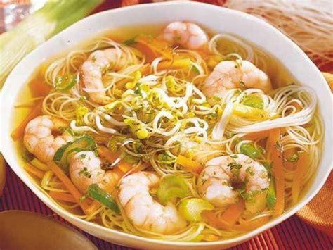 Suppen, kalorientabelle und Nährwerttabelle