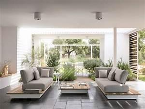 une deco zen pour un salon facon jardin japonais maisonapart With deco pour jardin exterieur 11 decoration salle de jeux adolescent