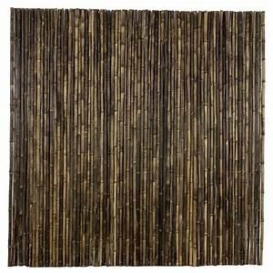 Bambou Noir Prix : rouleau bambou naturel 180x180 cm noir ecrans de jardin cl tures de jardin bois de jardin ~ Teatrodelosmanantiales.com Idées de Décoration