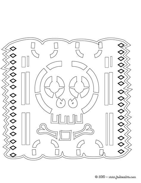 coloriages d 233 coration naperon mexicain 224 colorier en ligne fr hellokids