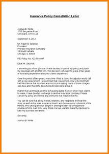 Resignation Letter From The Post Of Teacher 5 Insurance Cancellation Letter Template Letter Flat