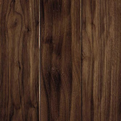 hardwood flooring walnut mohawk carvers creek natural walnut 1 2 in thick x 5 in wide x random length engineered