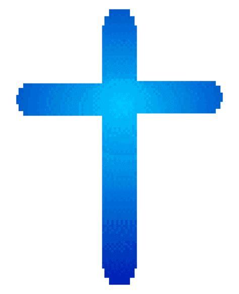 Blue Baptism Cross Clipart  Clipart Suggest