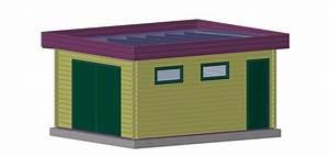 Garage en bois : sans permis de construire