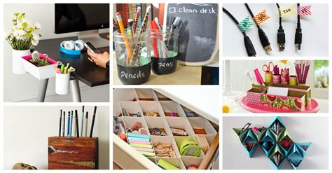 16 Diy Office Organization Ideas That Will Blow Your Mind