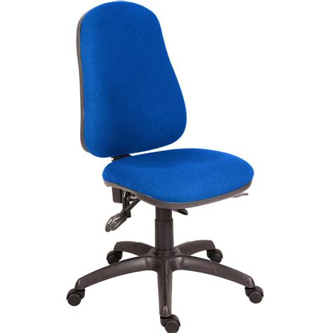 without a chair ergo plus 24 hour operator chair without arms blue staples