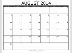 2014 Free Printable Calendars Free Printable Calendars
