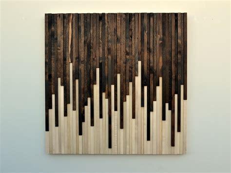 rustic wood wall art wood sculpture wall  moderntextures
