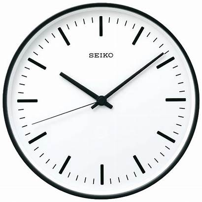 Clock Analog Seiko Clocks Standard Wall Automatic