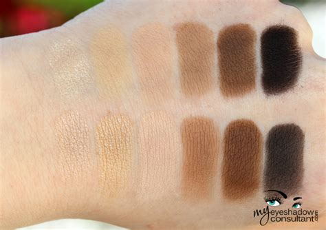 dupes urban decay naked basics palette  eyeshadow