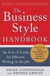 Job Format The Business Style Handbook Wikipedia