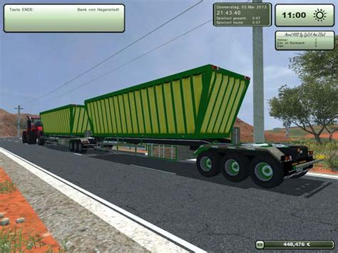 ls australia ls2013 road trailer simulator mods