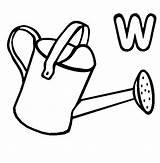 Watering Colouring Coloring Pages Clipart Sheet Clipartbest Clip sketch template