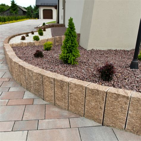 Granit Palisaden  20 Ideen Für Schöne Gartengestaltung