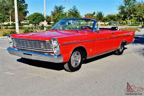 Amazing Find Original 65 Ford Galaxie 500xl Convertible