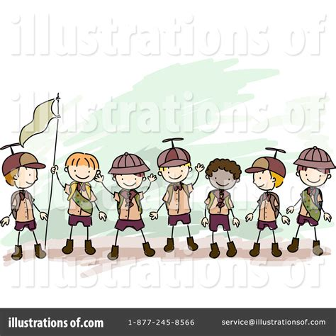 Free clipart for boy scout sunday collection