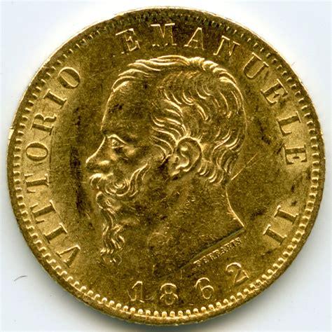 bureau de change à strasbourg italie 20 lire 1862