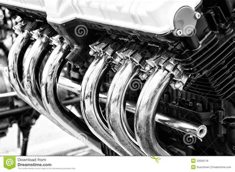 Exhaust Pipes Royalty Free Stock Photos