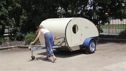 Teardrop Trailer Camper Slide Retro Gidget Double