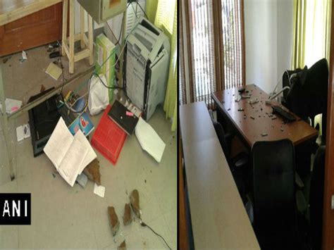 students ransack of hyderabad vc appa rao s