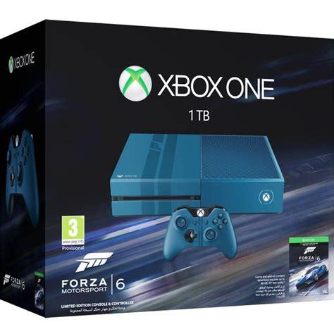 forza motorsport 6 xbox one xbox one 1tb limited edition forza motorsport 6 bundle consoles zavvi