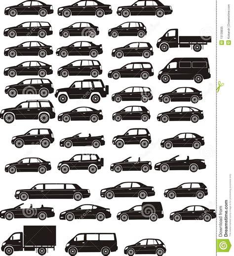 Car Set Stock Vector. Image Of Type, Vehicle, Sedan