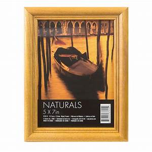 Small Picture Frame: 5x7 Oak Photo Frame