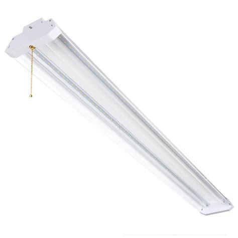 honeywell 4ft led shop light honeywell sh445505b110 4 foot linkable led shop light