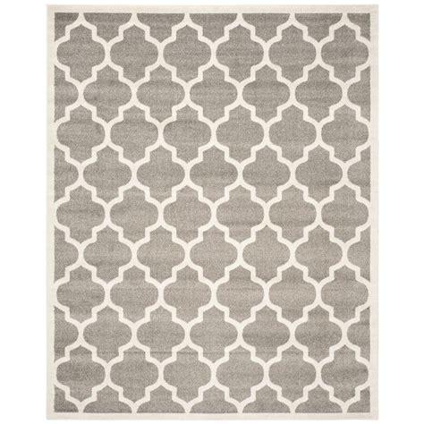home depot outdoor rugs safavieh amherst grey beige 8 ft x 10 ft indoor