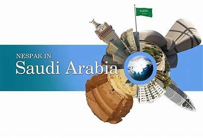 Nespak Arabia Saudi Saudia Kingdom Ksa Its