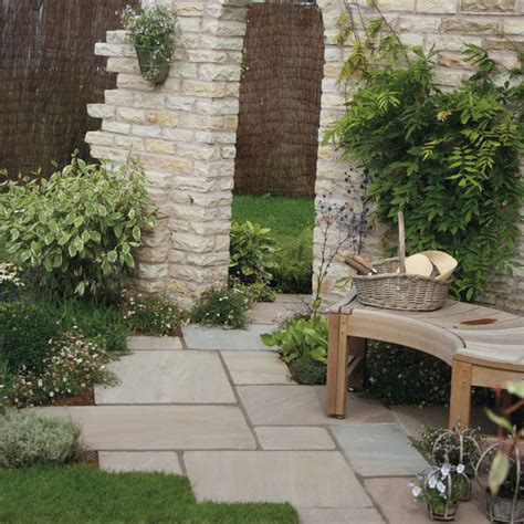 Garten Pflastern Ideen by Traditional Cottage Garden Paving Ideas