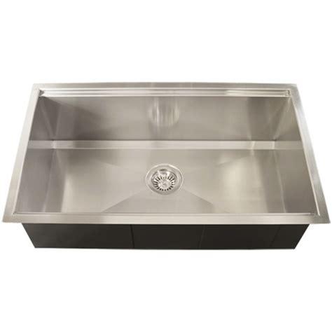 square undermount stainless steel kitchen sink ticor tr4000 undermount 16 gauge stainless steel square