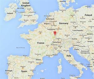 La situation Gîtes Weyer Gîtes de France en Alsace