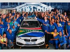 BMW Werk Rosslyn 35 Jahre 3erProduktion heute beendet