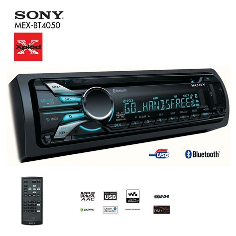 sony bt bluetooth car stereo big ed
