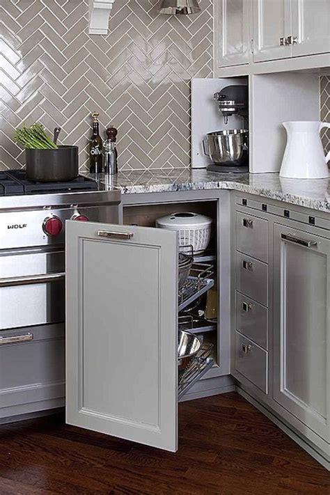 grey kitchen cabinets with backsplash gray herringbone backsplash transitional kitchen