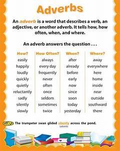 Adverb List For Kids | 4 EFL/ESL | Pinterest | Kid, For ...