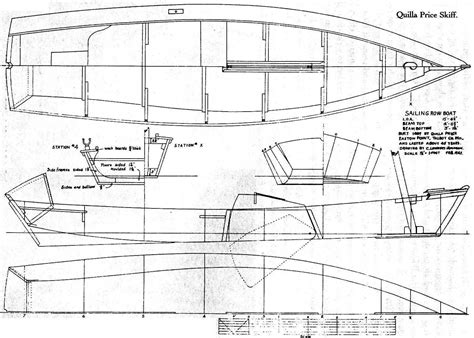 Skiff Boat Drawings by Free Viking Ship Model Plans Boat Plan