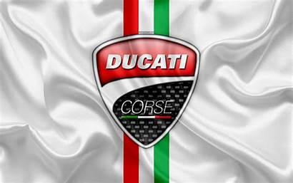 Ducati Corse 4k Italian Emblem Company Flag