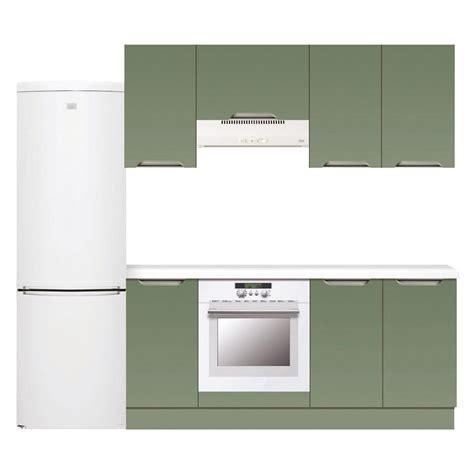 meuble cuisine vert meuble de cuisine vert delinia leroy merlin