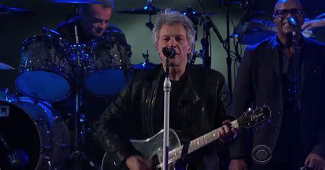 Watch Bon Jovi Play Rousing When Were Colbert
